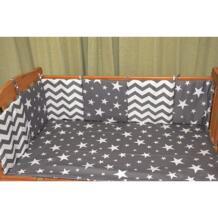 Детское постельное белье 6 шт. комплект Комбинации звезда кровать бампер удобные защитить ребенка легко Применение Детские бамперы в кроватку adamant ant 32871671093