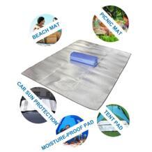 Коврики для пикника водостойкие Открытый спальный коврик одеяло для кемпинга влагостойкая алюминиевая пленка EVA с сумкой для хранения подарки Пляжная палатка No name 1849235