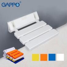 GAPPO настенный душ сиденье ванная комната кресло для отдыха душ Складной Сиденье для ванной складной скамья душ стул Туалет No name 32853950763