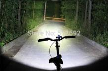 3000 Lumens 10W High Power CREE 3 Head XML T6 LED Bicycle Bike White Light Head Lamp 2 in 1 Aluminum alloy Waterproofing No name 1880164528