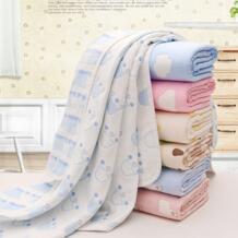 Детское банное полотенце 6 слоев хлопок марля муслин детские одеяла постельные принадлежности для новорожденных пеленать дети хлопок одеяло-конверт 80*80 см Mother nest 32814088565
