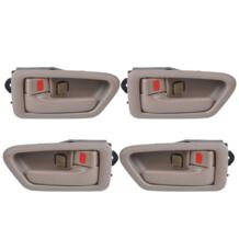 Новые 4 шт. Tan прямо + левой стороне внутри дверь ободок ручки 69206AA010E для Toyota Camry 1997 1998 1999 2002001 69205AA010E0 No name 32566340625