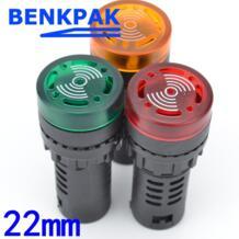 22 мм светодиодный индикатор зуммер 5 В 12 В 24 В 110 В 220 В No name 32680908667
