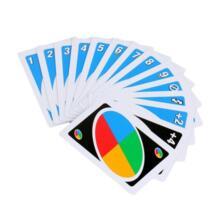 Семья забавные Развлечения Настольная Игра Uno Fun покер Карточные игры головоломки Семья Fun покер русский правила Бесплатная доставка Liplasting 32823288548