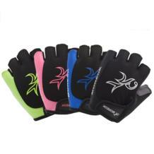 Новый велосипедные перчатки унисекс на открытом воздухе износостойкие езда половины пальцев перчатки ударопрочный противоскольжения дышащие Спорт Бег Перчатки No name 32841987978