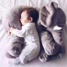 Летняя детская подушка мягкая подушка для кормления слона детская комната постельные принадлежности Украшение Детские плюшевые игрушки Рождество подарок Summitkids 32829389979