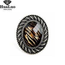 Новое поступление Корейская версия стильной атмосфере Ретро Leopard шляпа кольцо для Для женщин женские Ювелирные украшения оптовая продажа R309 No name 545341180