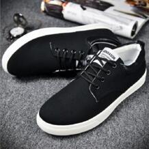 Весна / лето 2016 мужчин парусиновые туфли мода низкой помощи рабочая обувь свободного покроя дышащий мужской обуви квартиры - мужской обуви No name 32646684393