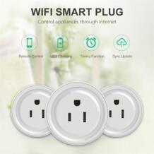 Wi-Fi Беспроводной мини-переключатель Smart Мощность разъем Дистанционное управление таймер выход США Plug 2017 fcc/ce/rohs/ul мы можем сделать дропшиппинг No name 32843924336