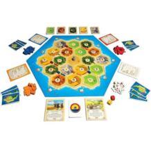 Catan семейная настольная игра Веселые карточные игры игрушки образовательная тема английский Крытый боковой стол Вечерние игры Doolland 32910408411