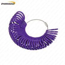 Кольцо Размер 1-33 пластиковое палец размер измерительный инструмент кольцевой фильтр набор, 33 шт. круг модели No name 32249167668