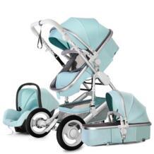 Детская коляска 3 в 1 с автомобильным сиденьем для новорожденных с высоким видом коляска складная детская коляска дорожная система carrinho de bebe 3 em 1 chcyus 32983032269