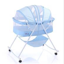 Новый многофункциональный Кабриолет Детские кроватки, люльки кровать раскладная Портативный новорожденных детская кроватка с сеткой детской мебели No name 32867437757