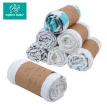 Пеленальный 100% ‑й хлопковый муслин для новорожденных, мягкая пеленка конверт для ребенка, спальный мешок, пеленка, детское постельное белье No name 32648294505