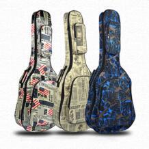 """40/41 """"Классическая гитарная сумка водостойкая 600D Оксфорд гитара чехол толстая губка Gig сумка с карринговыми бретелями anmas box 32953244328"""