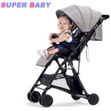 2 в 1 ультра легкий детская коляска складная может наклоняться складной высокий пейзаж зонтик ребенка тележка лето и зима YIBAOLAI 32858482423
