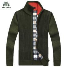 Бесплатная доставка AFS джип брендовый свитер мужской 2018 мужской модный брендовый Мужской дизайнерский тонкий кардиган стрейч мужской свитер 68 No name 32499982213