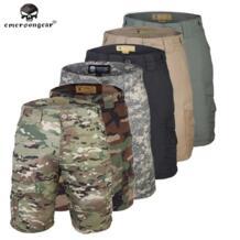 Emersongear всепогодный Открытый тактические шорты брюки Camoflage Эмерсон Airsoft военный камуфляж Wargame Мультикам No name 32367489890
