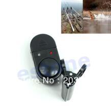 2 Светодиодов Индикатор Clip-on Удочка Рыба Клюет Лур Оповещения Alarm Sound Bell No name 32601505709