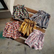 2018 летние шорты с цветочным принтом для маленьких девочек, детская одежда для девочек, штаны для малышей Darcoo BB 32878090909
