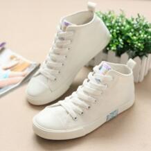2016 весной новый кружева диких плоские белые туфли, чтобы помочь низким мода ботинки холстины женщин повседневная обувь дикого No name 32620894618
