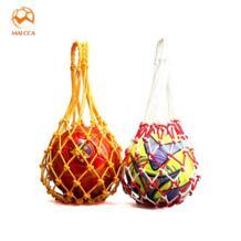 Футбол Портативный чистая Толстая сетки сумка для футбольных Баскетбол training Волейбольный мяч спортивные сумки MAICCA 32842899149