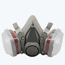 Профессиональный Половина маска газа респиратор фильтр для окраски и распыления рабочая обувь маски предотвратить органических паров газа Лидер продаж No name 32882177156