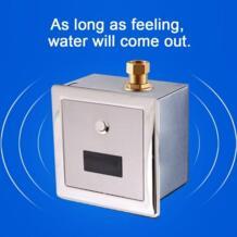 Сенсорный писсуар настенное крепление Туалет автоматическое распознавание писсуарный кран туалет кран краны писсуарный кран No name 32884310306