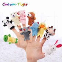Детский манеж дети мультфильм животное палец кукла на палец куклы, игрушки Детские вечерние принадлежности развивающие игрушки FGHGF 32708878706
