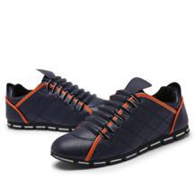 Новинка 2017 кожа деловая повседневная обувь Zapatillas модная мужская Роскошная брендовая мужская квартиры обувь для вождения Zapatos Para Correr No name 32803551869