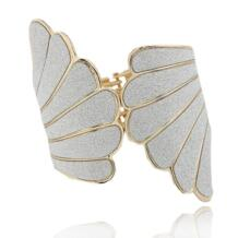 Панк Манжеты Браслеты и Браслеты для Женщин Мода Gold Angel Wings Шарм Браслеты Pulseira Feminina Femme No name 1094272211