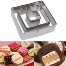 3 шт./компл. табличка формочки для печенья рамка для торта овальная квадратная прямоугольная необычная форма из нержавеющей стали 52128 FACEMILE 32727625202