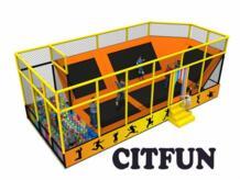 9*5 м индивидуальный дизайн Батутный парк с утверждением ce для продажи CIT-TP220B No name 32619984987
