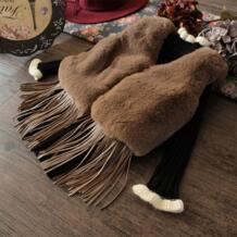 Новый меховой жилет для девочек модная куртка зима-осень Обувь для девочек Пальто для будущих мам детская одежда 6vt002 No name 32757107828