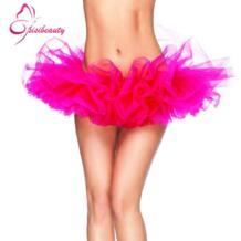 Женские Тюлевая юбка-пачка 13 Цветов сексуальные мини-юбке пушистый 6 слоев пряжи Юбка для балета для леди взрослых фатиновая юбка Buenos Ninos 32395502347