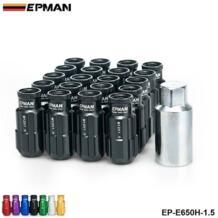 Зажимные гайки для гонок алюминий 20 шт. 12X1,5 мм открытый конец расширитель с ключом для Honda Toyota винт с мелкой резьбой EP-E650H-1.5 EPMAN 1468015325