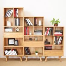 Шкафы для гостиной, мебель для дома, мебель массив дуба полке книжной полкой современный минималистский книжная полка функциональный шкаф новый No name 32809894609