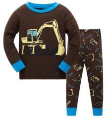 Коллекция 2018 года, Детские пижамные комплекты, одежда для маленьких девочек и мальчиков, пижамы с рисунком «сладкие сны», футболка с длинными рукавами + штаны для маленьких мальчиков и девочек, 2 предмета Magic Tadpole 32843416894