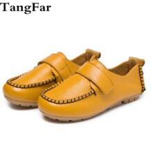 Детская школьная обувь плоская подошва из натуральной кожи мокасины для мальчиков Водонепроницаемый Удобные платье для сцены Туфли-мокасины No name 32880306773