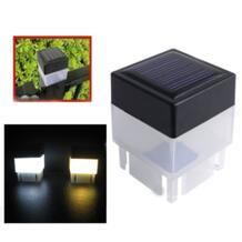 Новый высококачественный Солнечный уличный светодиодный квадратный светильник для забора сада ландшафтного столба лампа Прямая доставка-in Направляющие огни from Лампы и освещение on Aliexpress.com | Alibaba Group MUQGEW 32946698050