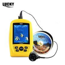 Lucky Brand Портативный подводных Рыбалка инспекции Камера 20 м кабель Рыболокаторы 3.5 дюймовый цветной RGB Водонепроницаемый Мониторы No name 32608596444