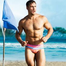 Радуга Для мужчин Плавание одежда Для мужчин s Плавание трусы сексуальные треугольные плавательные трусы Плавание ming Шорты 202 AUSTINBEM 32800407483
