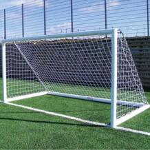 3 м х 2 м PE ворот 5 человек хлопок спандекс материал футбольная сетка Футбол сетка для футбольных ворот столб сетки для тренировки на открытом воздухе инструмент jusenda 32854366495