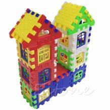 Дети Смешные кирпичи дом строительные Обучающие блоки Строительная игрушка набор HBB 32591887159