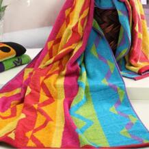 Горячая 75x150 cm большой хлопок Полотенца красочные печатные прямоугольник Для ванной быстро сухой мягкой взрослых на пляже Бесплатная доставка No name 32671606845