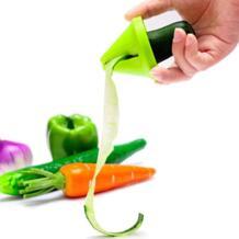 Новый 1 шт. овощей Spiralizer терка для овощей спиральный измельчитель нож Spiralizer для моркови огурец кабачок Кухня Инструменты гаджет No name 32915613649