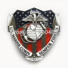 Розничная распределить морской пехоты США пряжки ремня BUCKLE-3D062 Бесплатная доставка No name 1854687750