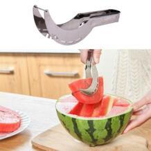 Нож для арбуза из нержавеющей стали резак для быстрого нарезания кухонный Режущий инструмент Нож Для дыни использовать в помещении или на открытом воздухе winnereco 32901193611