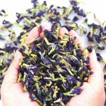 Тайский Голубой чай с бабочками Clitoria Terna чай тайский горох бабочки чай витамин а натуральный органический зеленый чай цветок цветы чай GEWA (首饰) 32980938149