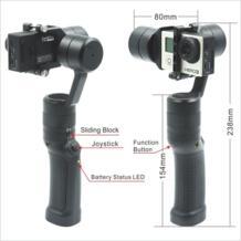 Isteady 3 оси Ручные стабилизаторы стабилизатор для GoPro Hero 3/4 Спорт действий Камера гладкой Перезаряжаемые Lthium-ионный Батареи GG2 No name 32819203956